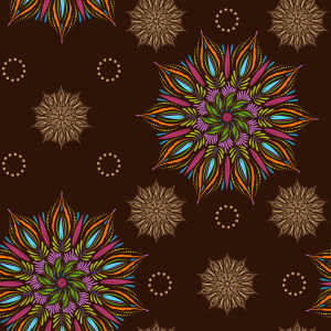 Picture no: 9011991 Mystisches Erd Mandala Created by: patterndesigns-com