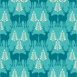 Picture no: 9012410 Winterliche Waldtiere Created by: patterndesigns-com