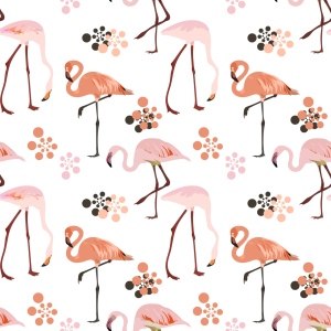 Picture no: 9012435 Flamingo Leben Created by: patterndesigns-com