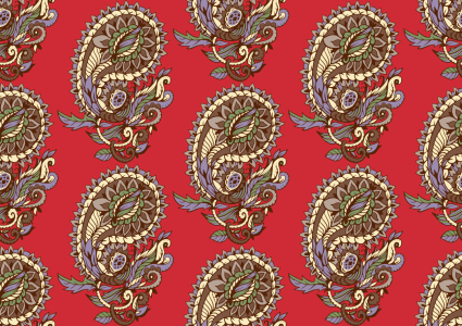 Picture no: 9012452 Klassisches Paisley Created by: patterndesigns-com