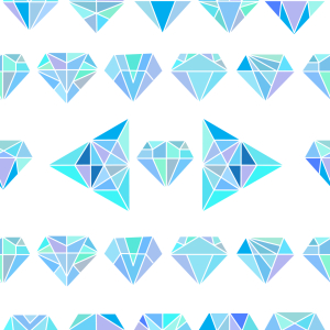 Picture no: 9012461 Dimensionale Diamanten Created by: patterndesigns-com