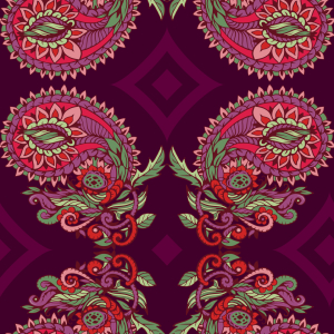 Picture no: 9012486 Ranken Paisley Created by: patterndesigns-com