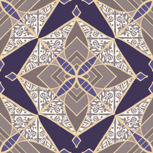 Picture no: 9012559 Patchwork Sternen-Mosaik Created by: patterndesigns-com