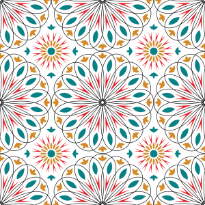 Picture no: 9012850 Opulente Kreise Created by: patterndesigns-com