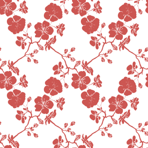 Picture no: 9012858 Kirschblüten Baum Created by: patterndesigns-com