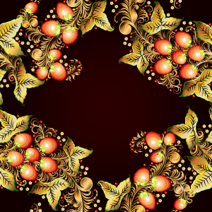 Picture no: 9012996 Russischer Beeren Kranz Created by: patterndesigns-com