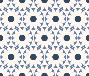 Picture no: 9013068 Azulejo Blumen Created by: patterndesigns-com
