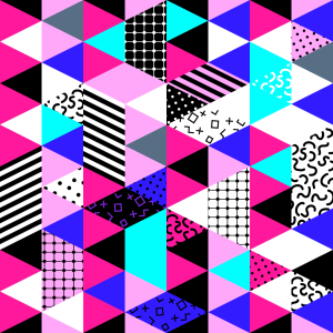 Picture no: 9013090 Triangle Patchwork Created by: patterndesigns-com