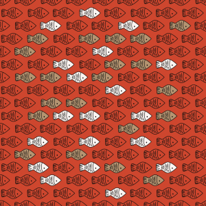 Picture no: 9013117 Niedliche Fisch-Bande Created by: patterndesigns-com
