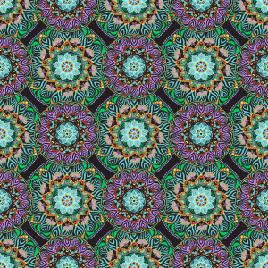 Picture no: 9013129 Mandala Blüten Created by: patterndesigns-com