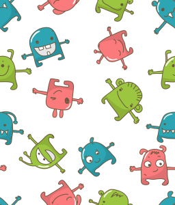 Picture no: 9013274 Monster Party Created by: patterndesigns-com