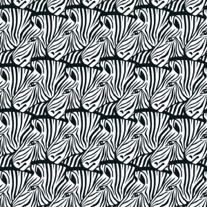 Picture no: 9013348 Lauter Zebras Created by: patterndesigns-com