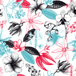 Picture no: 9013418 Duftende Liebesblüten Created by: patterndesigns-com