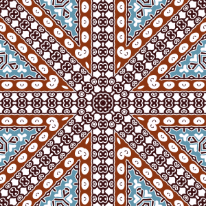 Picture no: 9013471 Halbkreismosaik Created by: patterndesigns-com