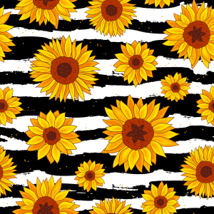 Picture no: 9013532 Sonnenblumen-Zebra Created by: patterndesigns-com