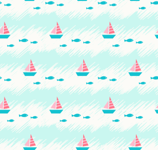 Picture no: 9013732 Niedliches Meer Created by: patterndesigns-com