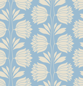 Picture no: 9013750 Vintage Blumen-Silhouetten Created by: patterndesigns-com
