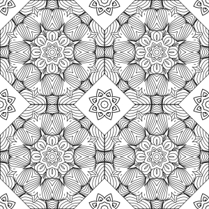 Picture no: 9013777 Florale Linie Für Linie Created by: patterndesigns-com