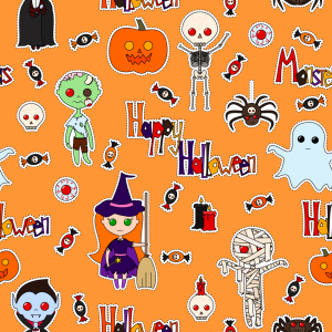 Picture no: 9013784 Halloween Party Created by: patterndesigns-com