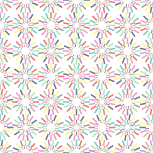Picture no: 9013986 Bunte Streusel-Kreise Created by: patterndesigns-com