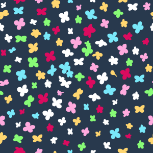 Picture no: 9014041 Konfettiblüten Created by: patterndesigns-com