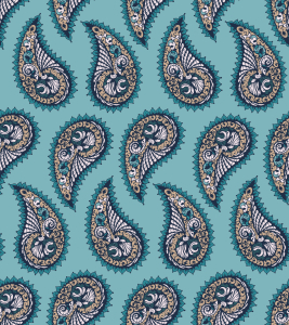 Picture no: 9014043 Seemuschel Paisley Created by: patterndesigns-com