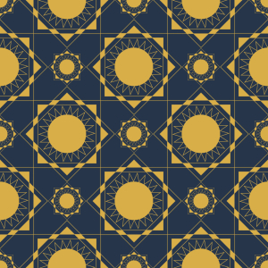 Picture no: 9014146 Art Deco Sonnen Created by: patterndesigns-com