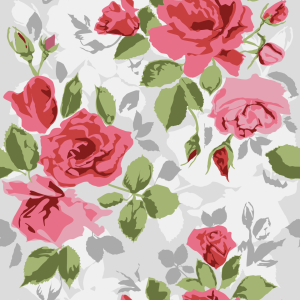 Picture no: 9014222 Garten Rosen Created by: patterndesigns-com