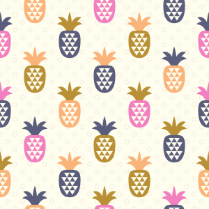 Picture no: 9014327 Ananas Und Dreiecke Created by: patterndesigns-com