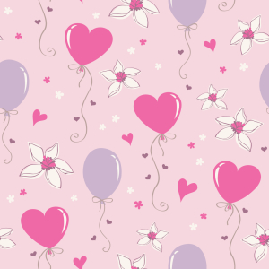 Picture no: 9014494 Schöne Herz Luftballons Created by: patterndesigns-com