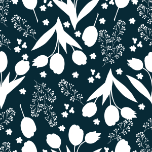 Picture no: 9014529 Tulpen Silhouetten Created by: patterndesigns-com