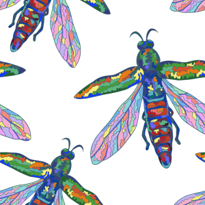 Picture no: 9014561 Tropische Insekten Created by: patterndesigns-com