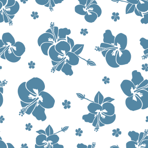 Picture no: 9014640 Tropische Hibiskus Blüten Created by: patterndesigns-com