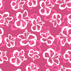 Picture no: 9014698 Hawaiianische Hibiskus Blüten Created by: patterndesigns-com