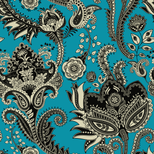 Picture no: 9014726 Ethnische Blumen Created by: patterndesigns-com