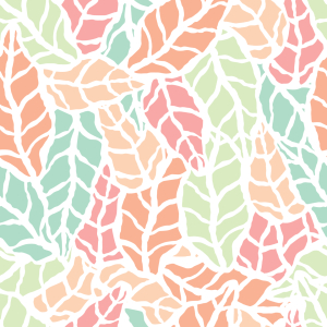 Picture no: 9014771 Scandi Kunst Blätter Created by: patterndesigns-com