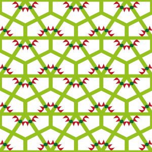 Picture no: 9014839 Kantige Wellen Am Netz Created by: patterndesigns-com