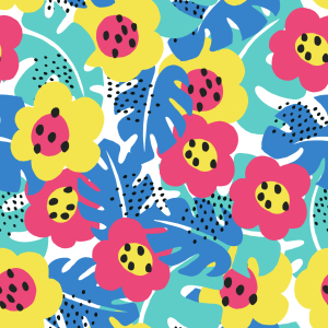 Picture no: 9014860 Verborgene Jungleblüten Created by: patterndesigns-com