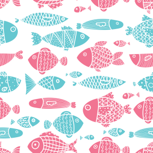 Picture no: 9014877 All Die Fische Im Meer Created by: patterndesigns-com