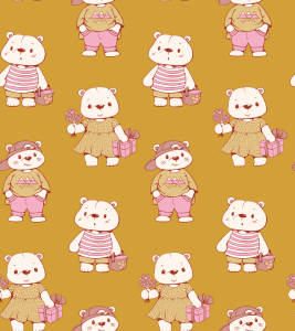 Picture no: 9014931 Glückliche Teddys Created by: patterndesigns-com