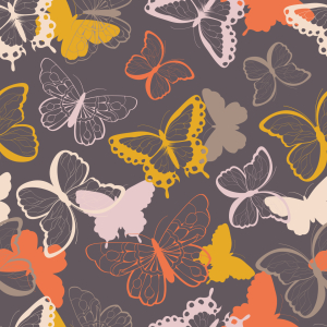 Picture no: 9014946 Fliegende Schmetterlinge Created by: patterndesigns-com