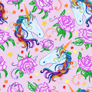 Picture no: 9014975 Einhorn Und Rosen Created by: patterndesigns-com