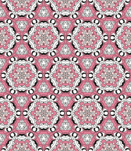 Picture no: 9014987 Verbund Von Blüten Created by: patterndesigns-com