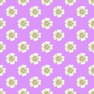 Picture no: 9014990 Gitter von Malvenblüten Created by: patterndesigns-com