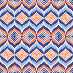 Picture no: 9015085 Rauten In Ogee Created by: patterndesigns-com