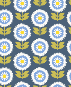 Picture no: 9015092 Buschige Blüten Created by: patterndesigns-com