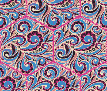 Picture no: 9015116 Paisley Fliesen Created by: patterndesigns-com