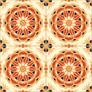 Picture no: 9015119 Die Aufgehende Sonne Created by: patterndesigns-com