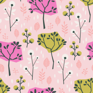 Picture no: 9015138 Sommer Bäume Created by: patterndesigns-com