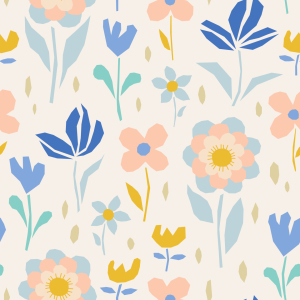 Picture no: 9015140 Fröhliches Blühen Created by: patterndesigns-com